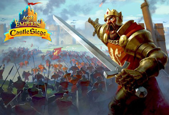 Age of Empires Castle Seiege