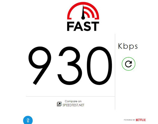 Fast Speed-Test
